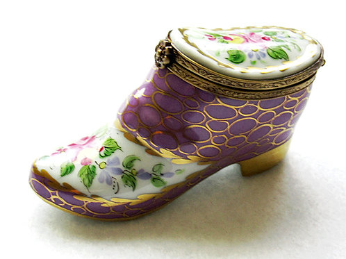 Limoges handpainted collectible box