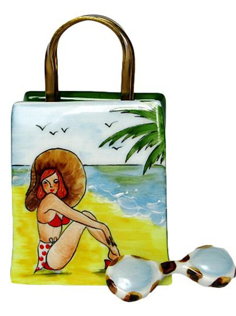 PIN-UP BEACH BAG LIMOGES