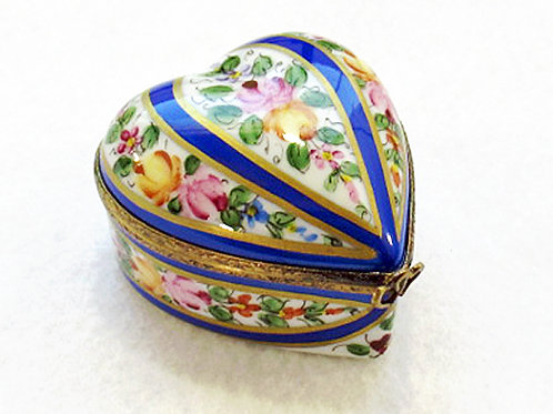limoges collectible heart box