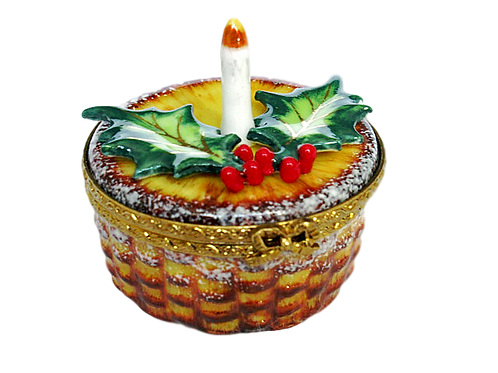 CHRISTMAS CANDLE LIMOGES