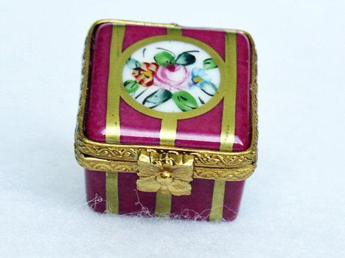 Limoges collectible porcelain box