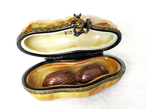 Limoges collectible peanut box