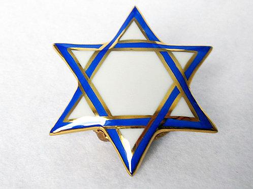 STAR OF DAVID LIMOGES