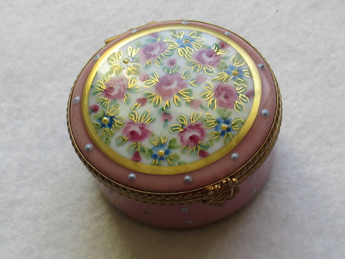 Limoges collectible pillbox