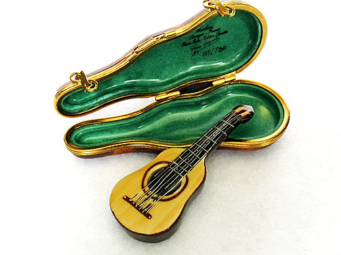 LIMOGES GUITAR WITH CASE