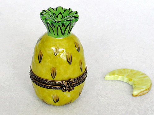 Limoges pineapple collectible box