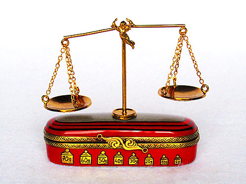 Limoges balance scale