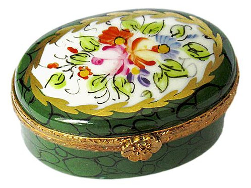 NADINE HANDPAINTED LIMOGES BOX