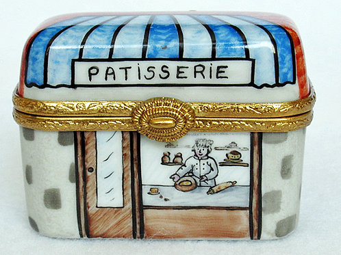 Limoges bakery shop box