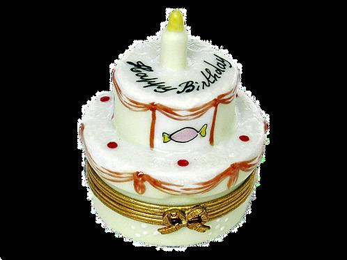 LIMOGES BIRTHDAY CAKE