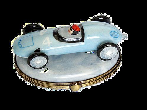 RACE CAR LIMOGES BOX