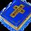 Thumbnail: BLUE LIMOGES BIBLE
