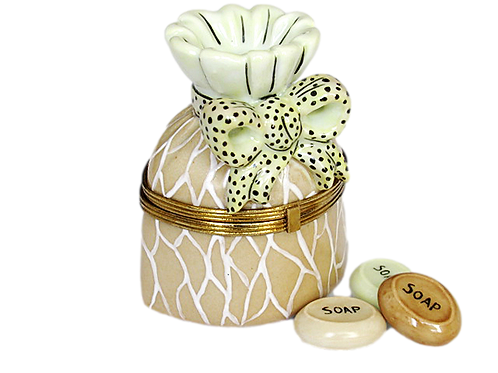 SOAP JAR LIMOGES BOX
