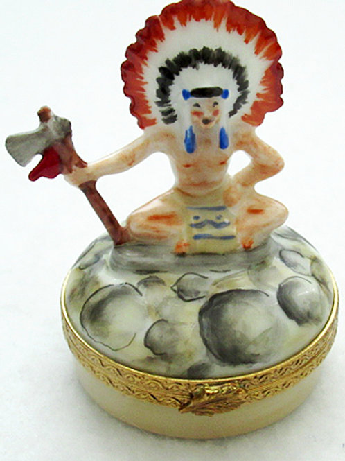 Native American Limoges box