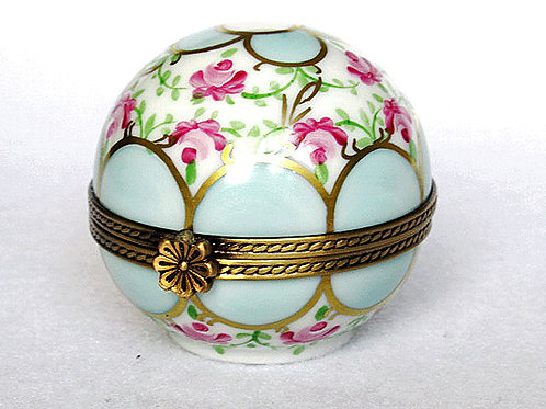 collectible limoges spherical box