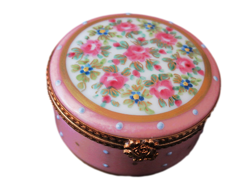 ROSELINE LIMOGES COLLECTIBLE BOX