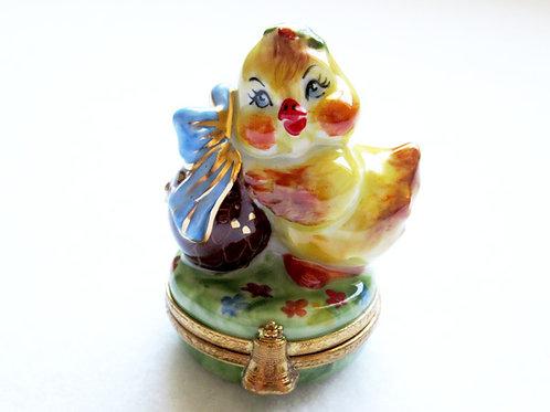 Limoges porcelain Easter egg