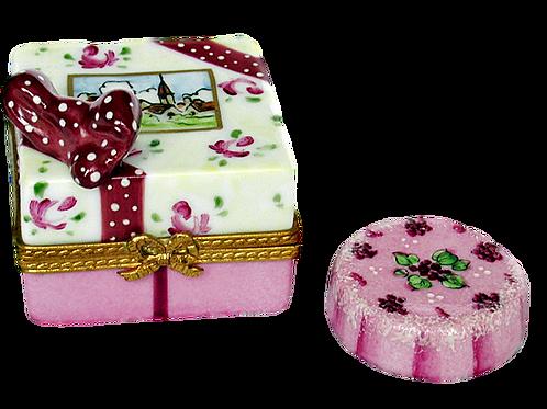 PROVENCE CAKE LIMOGES BOX