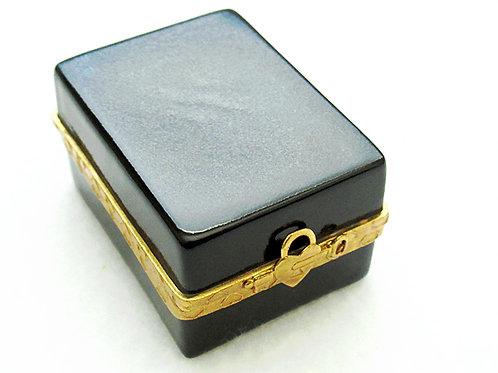 Limoges porcelain ring box