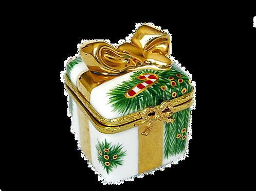 CHRISTMAS LIMOGES GIFT BOX