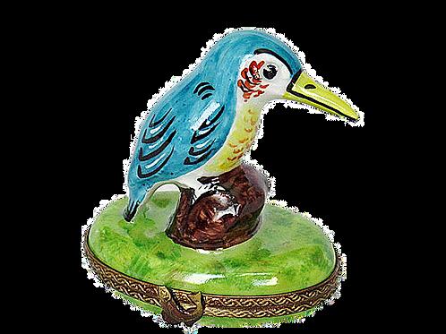 HUMMINGBIRD LIMOGES BOX