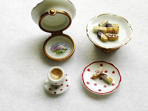 Limoges mini espresso set