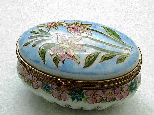 Limoges tiger lili box