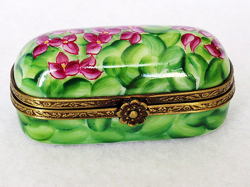 LIMOGES PILL BOX