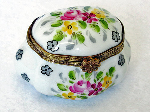 Limoges collectible handpainted box