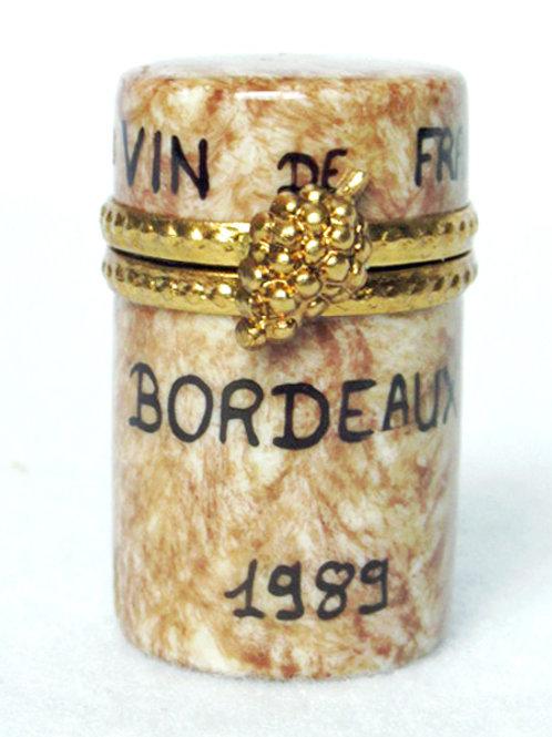 Limoges porcelain wine cork