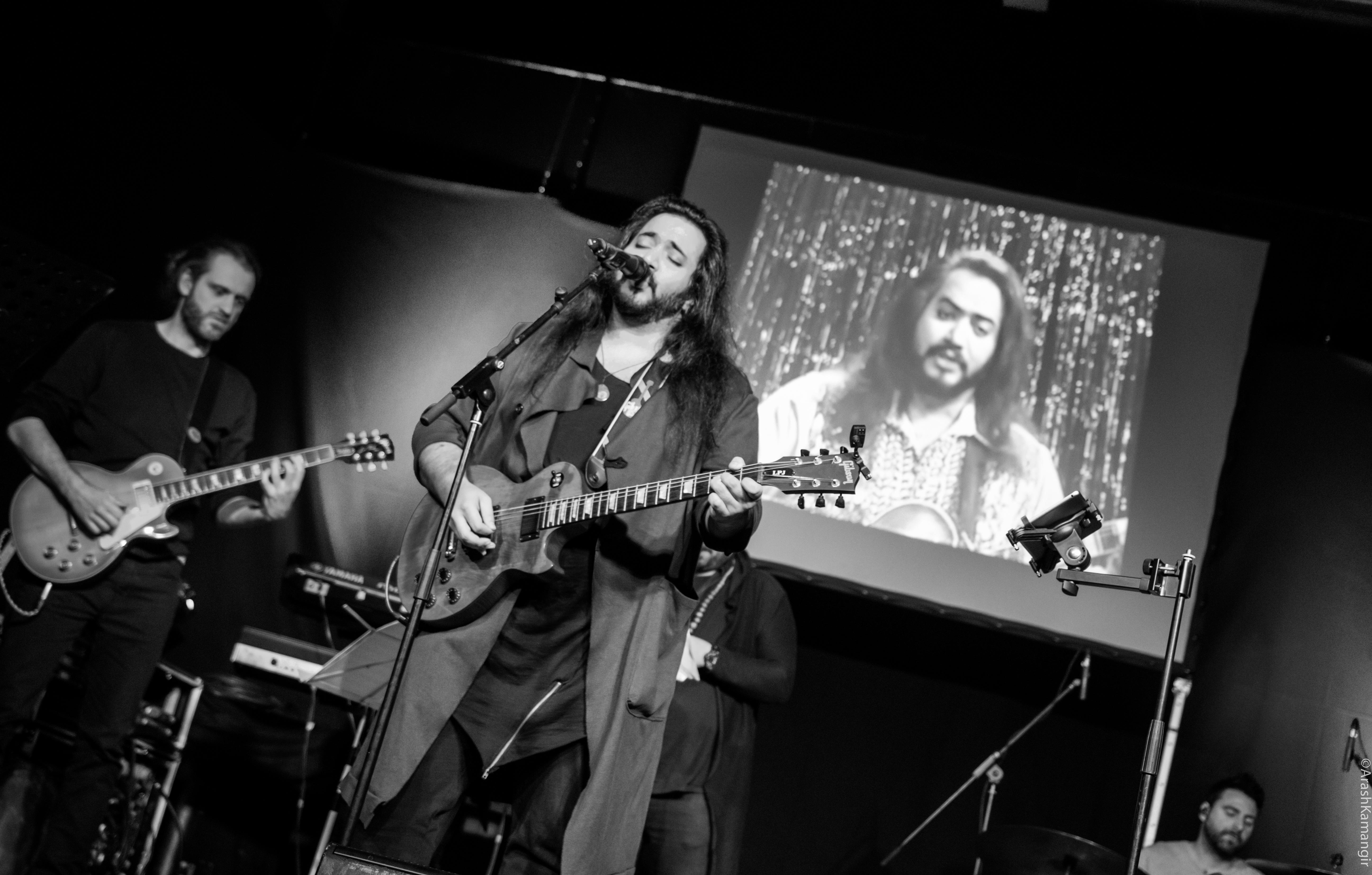 Majid Kazemi sings Gomshodeh