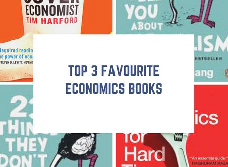 My top 3 favourite Economics books