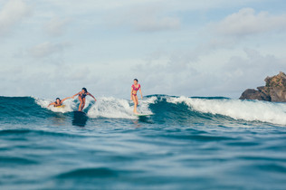 Small wave surfing