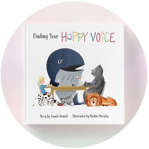 Hard Cover Finding your happy voice