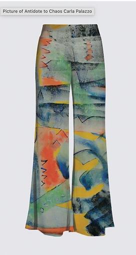 Art clothing - elegant trousers