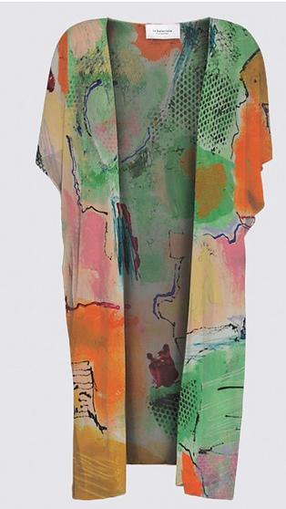 Art clothing - elegant kimono