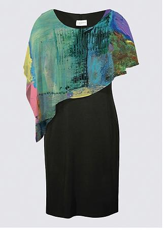 Art clothing - cape on dress