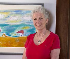 Photo of Joan Hughes artist