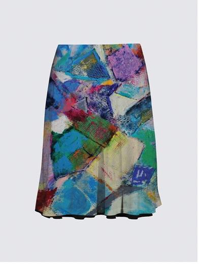 Art clothing - fun short skirt