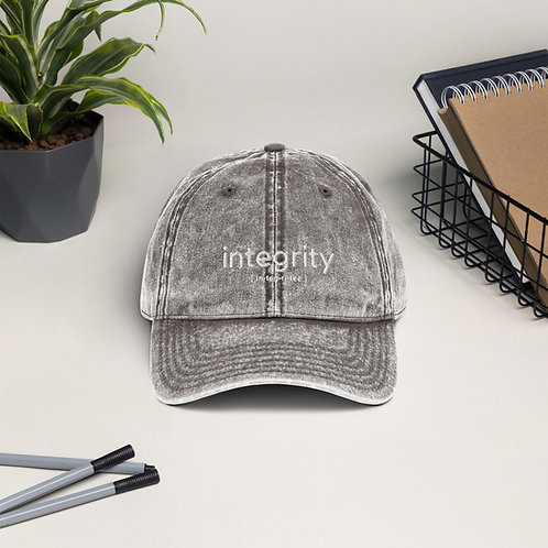 Integrity Vintage Cap