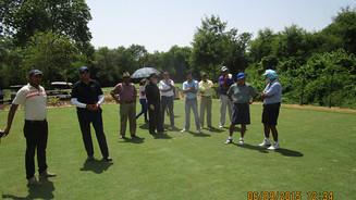 Renovation at Delhi Golf Club