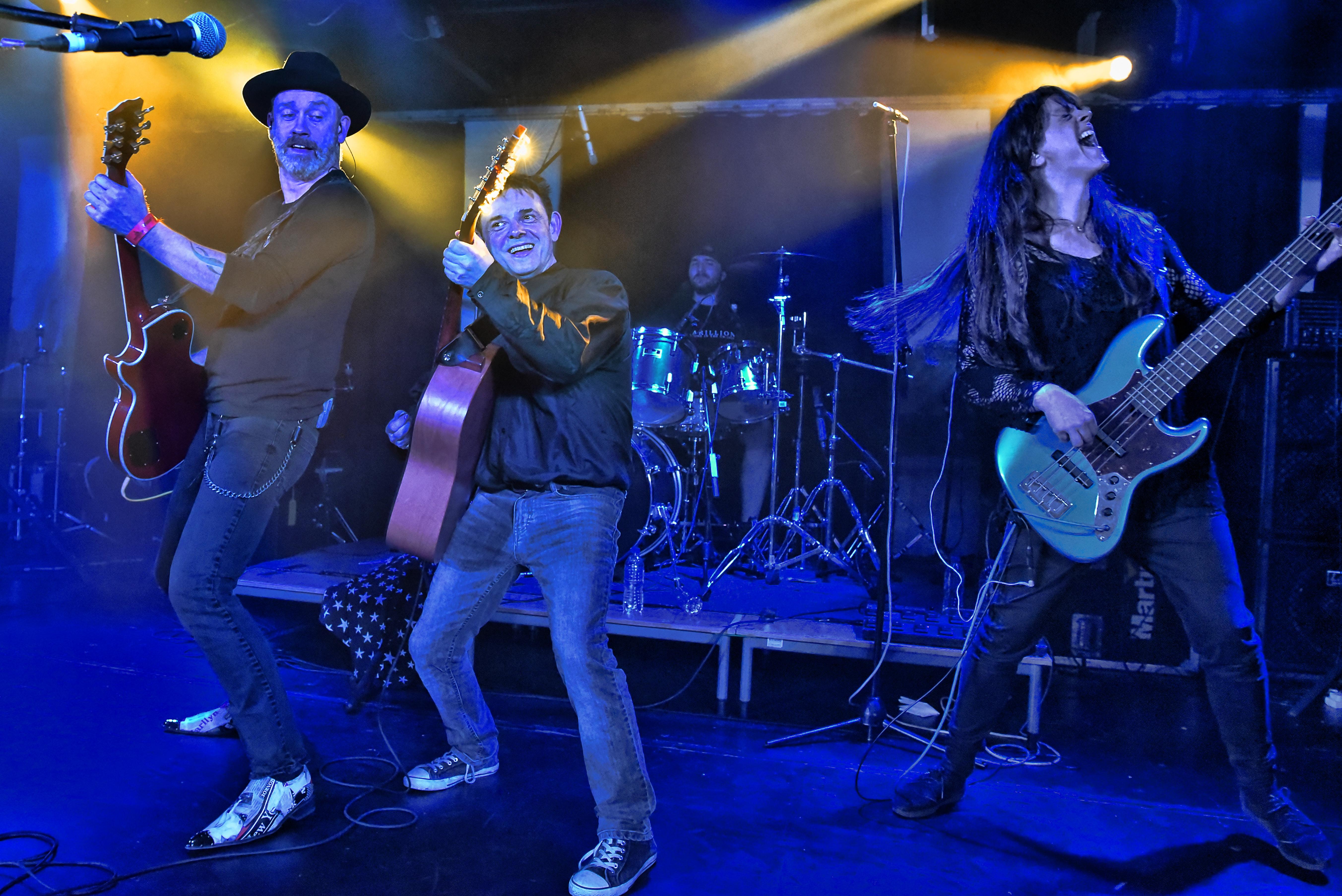 Mark, Alan, Henry and Jen