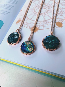 Sun Token Necklaces