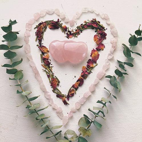 Rose Quartz Love Pouch