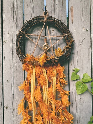 Litha Blessings Wall Hanging