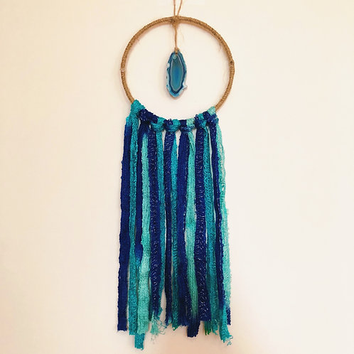 Blue Agate Dreamcatcher