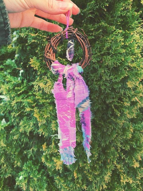 Amethyst Wreath Ornament