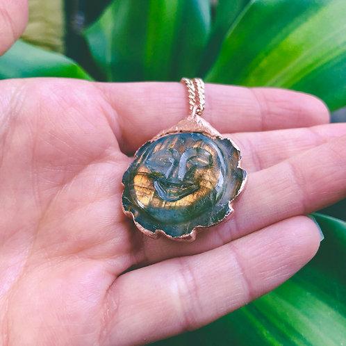 Labradorite Sun Necklace