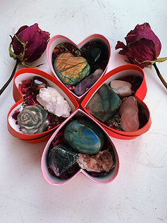 Crystal Valentine's Day Boxes