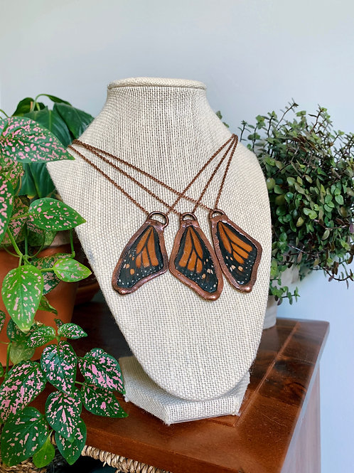 Monarch Butterfly Necklace